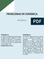 Problemas de Dinamica 2016-3