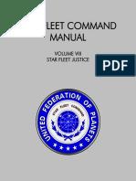 Star Fleet Command Manual - Volume VIII
