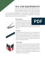 Nail Tools and Equipments