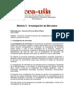 ALDAIR BLANCO Modulo 5 Investigacion de Mercados