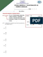 guia de fracciones y decimales