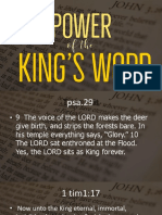 Power of the Kings Word Slides