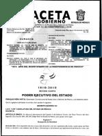 Edomex Ley de Bienes Reforma Artículo