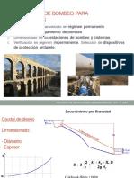 Dimensionar estación de bombeo para acueductos