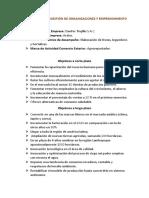 Fundamentos de Gestión de Organizaciones y Emprendimiento