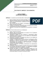Campeche Ley de Bienes Del Estado y Municipios
