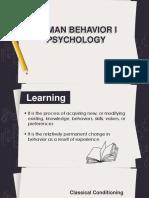 Human Behavior i Psychology