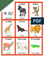Animales en Ingles