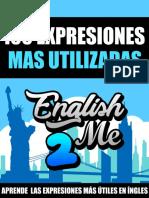 Libro 100 Expresiones Más Utilizadas en Inglés Por English2Me