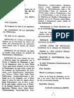 Ley de Creación del Distrito de Cayara, provincia Fajardo, Ayacucho.