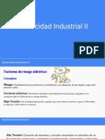 Electricidad Industrial II - Riesgo Eléctrico