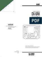 Alinco Dr Xr8t user Manual