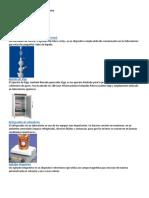 Instrumentos de Un Laboratorio Químico