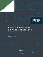 Politica Artes Escenicas