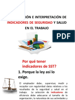 8.- Indices de Seguridad