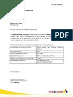 Carta Autorización Terceros Transferencia Nacional Vpe