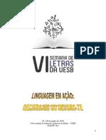 Caderno Resumos VI Semana Letras 2016