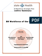 Workforce Strategic Plan Executive Summary