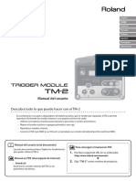 Roland TM2 - User Manual