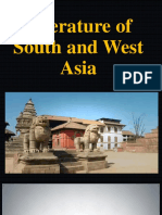 Literature of South and West Asia