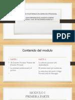 Presentación Modulo i Del Cpcn en Esteli Postgrado 120316