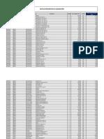 List a Do PDF Oficial