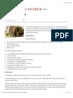Chimichurri Potatoes | The Splendid Table