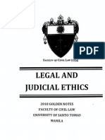 Golden Notes Legal Ethics 2018