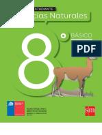 CIENCIAS NATURALES SM 8  DE CHILE