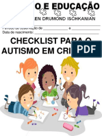 Check List do Autismo