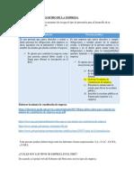 Constitución y Registro de La Empresa