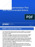 Inbde Implementation Plan