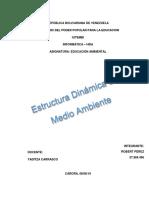 Estructura Dinamica Del Medio Ambiente