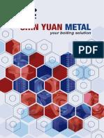 Catalog Chin Yuan Metal 2012