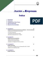 Constitución de Empresa