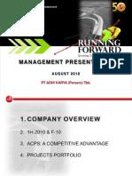 2010-08 Management New