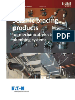 Seismic bracing mechanical electrical plumbing systems catalog