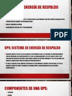 Energia de respaldo pdf