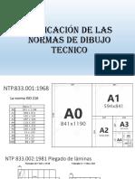 Normas del dibujo técnico