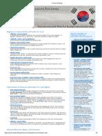 Korean Roadmap