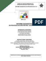 Informe Diagnostico IV Trimestre