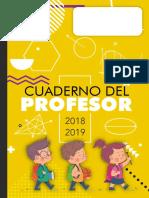 Portada Matemáticas Cuaderno de Profesor 2018 2019 Recursosep