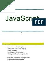 Javascript Day1