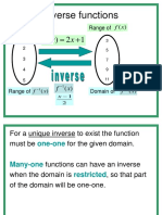 Inverse Functions Ppt