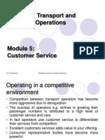 MTLO Module 5 Customer Service