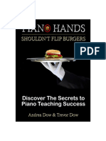 Piano Hands Shouldnt Flip Burgers the Essentials 2018