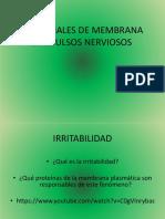 3. Potencial de Membrana e Impulsos Nerviosos (1)