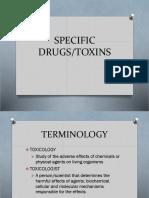 SPECIFIC DRUGS.pptx