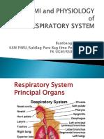 Anatomi Dan Fisiologi Sistem Respirasi Workshop Cardiologi Dasar