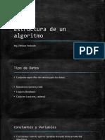 Estructura Del Algoritmo